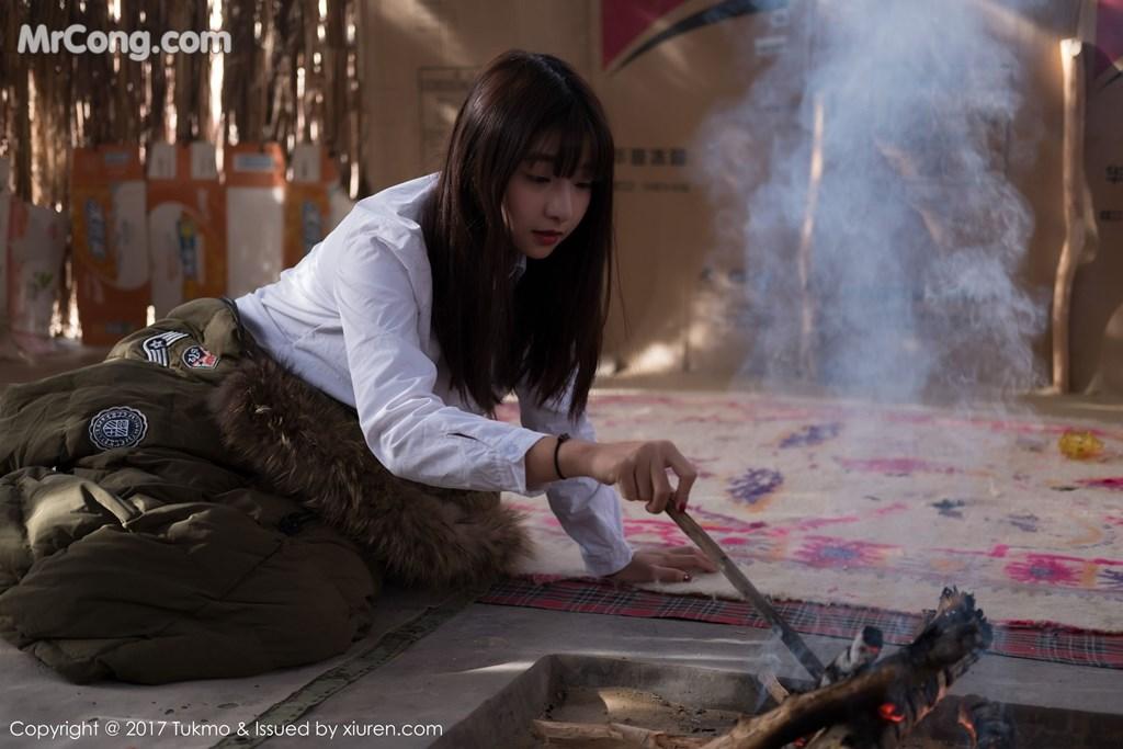 Image Tukmo-Vol.103-Qiu-Qiu-MrCong.com-005 in post Tukmo Vol.103: Người mẫu Qiu Qiu (球球) (43 ảnh)
