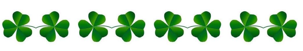 Image result for four leaf clover border