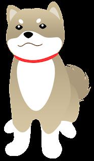 フリー素材 戌年 犬 年賀状 商用利用可