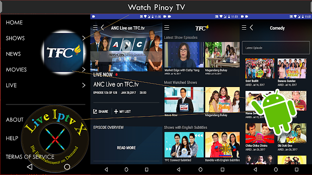 TFC - Pinoy TV & Movies Apk