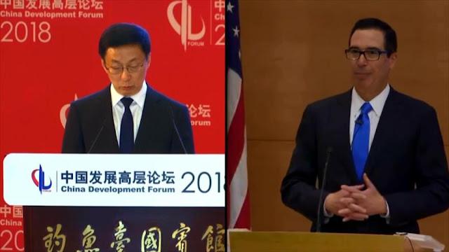 EEUU y China dialogan para superar la guerra comercial