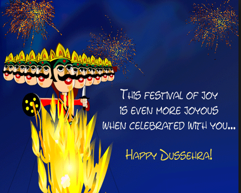 Happy Dussehra whatsapp Status Messages Quotes Wishes