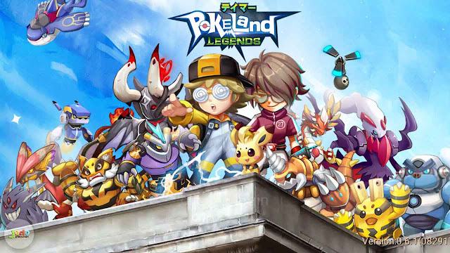 Download Pokeland Legends Apk Mod Game