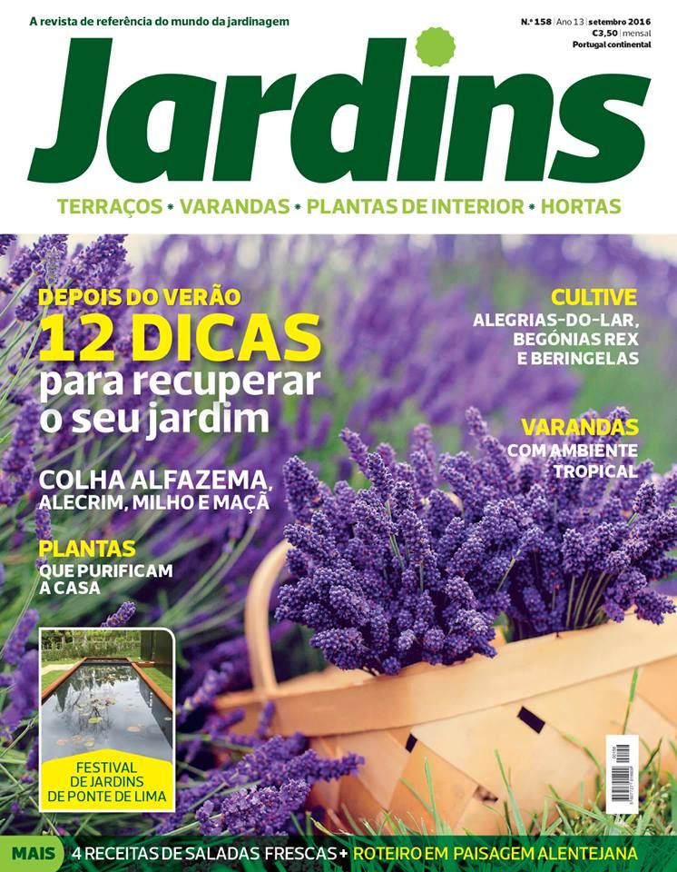 Greenman revista jardins de setembro 2016 for Jardin de genios revista 2016