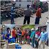 Sekda Tinjau dan Berikan Bantuan Korban Bencana Puting Beliung di Kumun Hilir