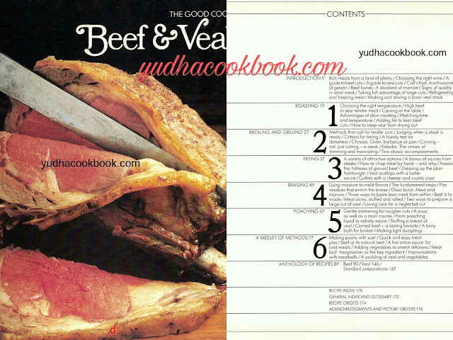 Beef carving cook book, Beef Complete Guide cook book, Beef & Veal Cook Book bible