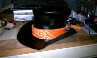 http://www.instructables.com/id/Leather-SteamPunk-Top-Hat-1/