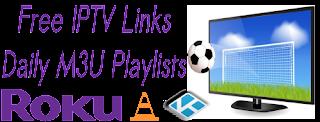 Free Daily M3U Playlist 8 December 2017