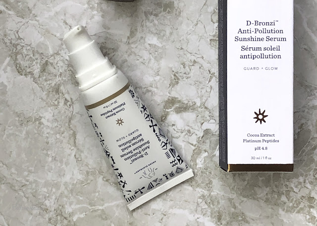 Drunk Elephant DBronzi Anti Pollution Sunshine Serum | bellanoirbeauty.com