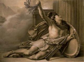 Αποτέλεσμα εικόνας για Ελλήνων προμαχούντες...