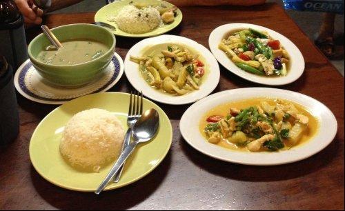 Thailands Küche ist so gut! (C) Kundenfoto