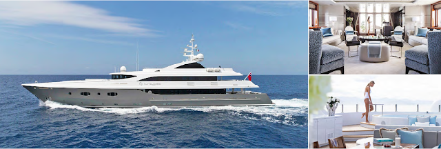 Motor Yacht Turquoise offering big discounts on Caribbean Yacht Charters