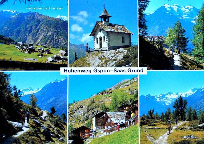 Szwajcaria Dolina Saas