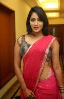 Kesha Khambhati Sizzling Photo in saree HeyAndhra