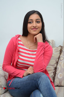 Telugu Actress Mouryani Latest Pos in Blue Denim Jeans  0145.JPG