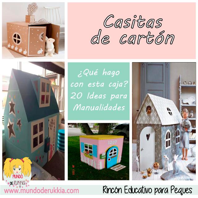 manualidades-carton-casas-niños