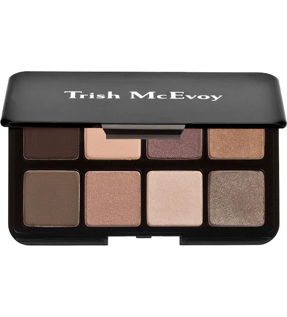 trish mcevoy eyeshadow, trish eye palette, trish mcevoy palette, trish mcevoy brown palette,