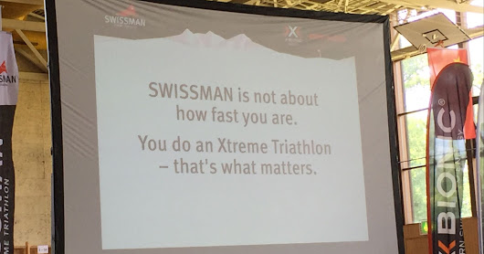 xTRI Triathlons - SWISSMAN race report - 24 June 2017