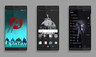 Download The Avengers Theme for EMUI 5