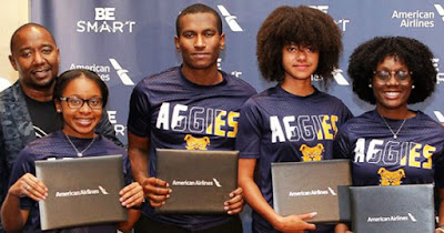 American Airlines HBCU scholarship recipients