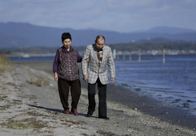 Former death-row inmate Iwao Hakamada and his sister