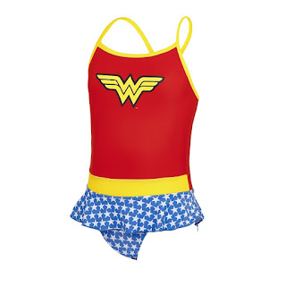 Zoggs DC Superheroes range Wonder Woman swimwear
