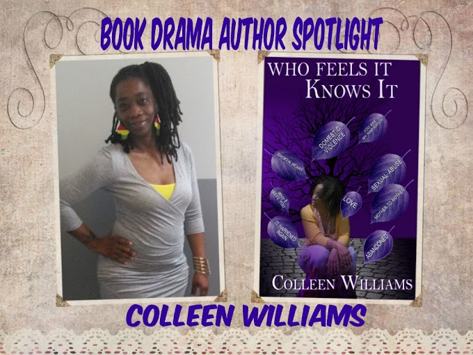 BOOK DRAMA ~ AUTHOR SPOTLIGHT ~ COLLEEN WILLIAMS