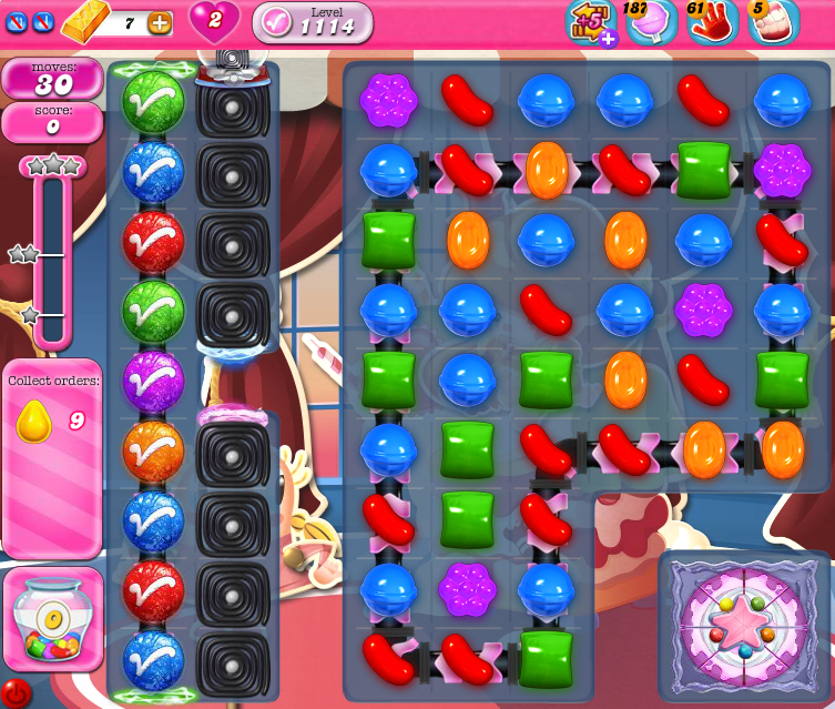 Candy Crush Saga 1114