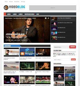 CB Video Blog - Template Blog Video Responsive