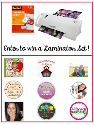 http://daughtersandkindergarten.blogspot.com/2016/08/scotch-laminator-giveaway.html