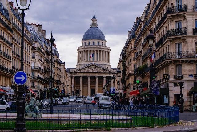 Calle del Panteón en Paris