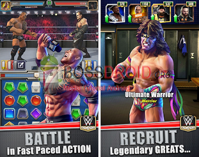 Download Game WWE Champions Free Puzzle RPG Mod Apk Latest Android