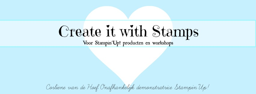 Create it with stamps! Stampin'Up!