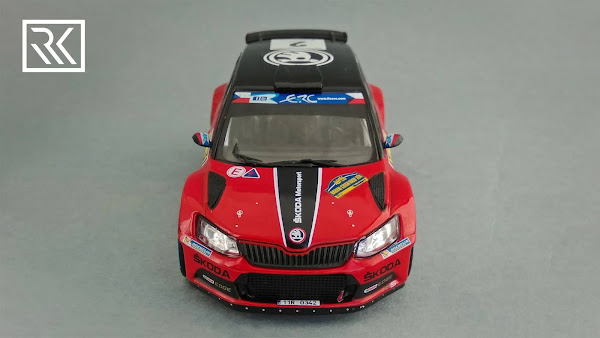 IXO RAM651 Skoda Fabia R5, Winner of Barum Rally 2016