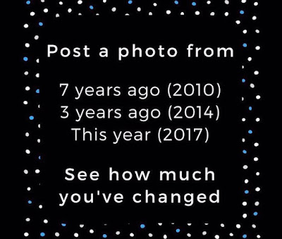POST A PHOTO FROM 7 YEARS AGO!