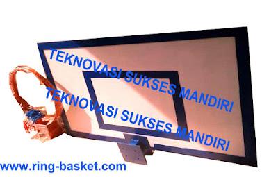 jual Papan Pantul Basket - Fiberglass
