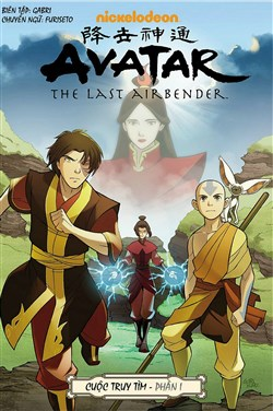 Avatar: The Last Airbender – The Search – Truyện tranh