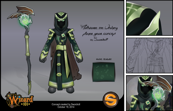 Malistaire The Undying Player Gear Concept Swordroll S