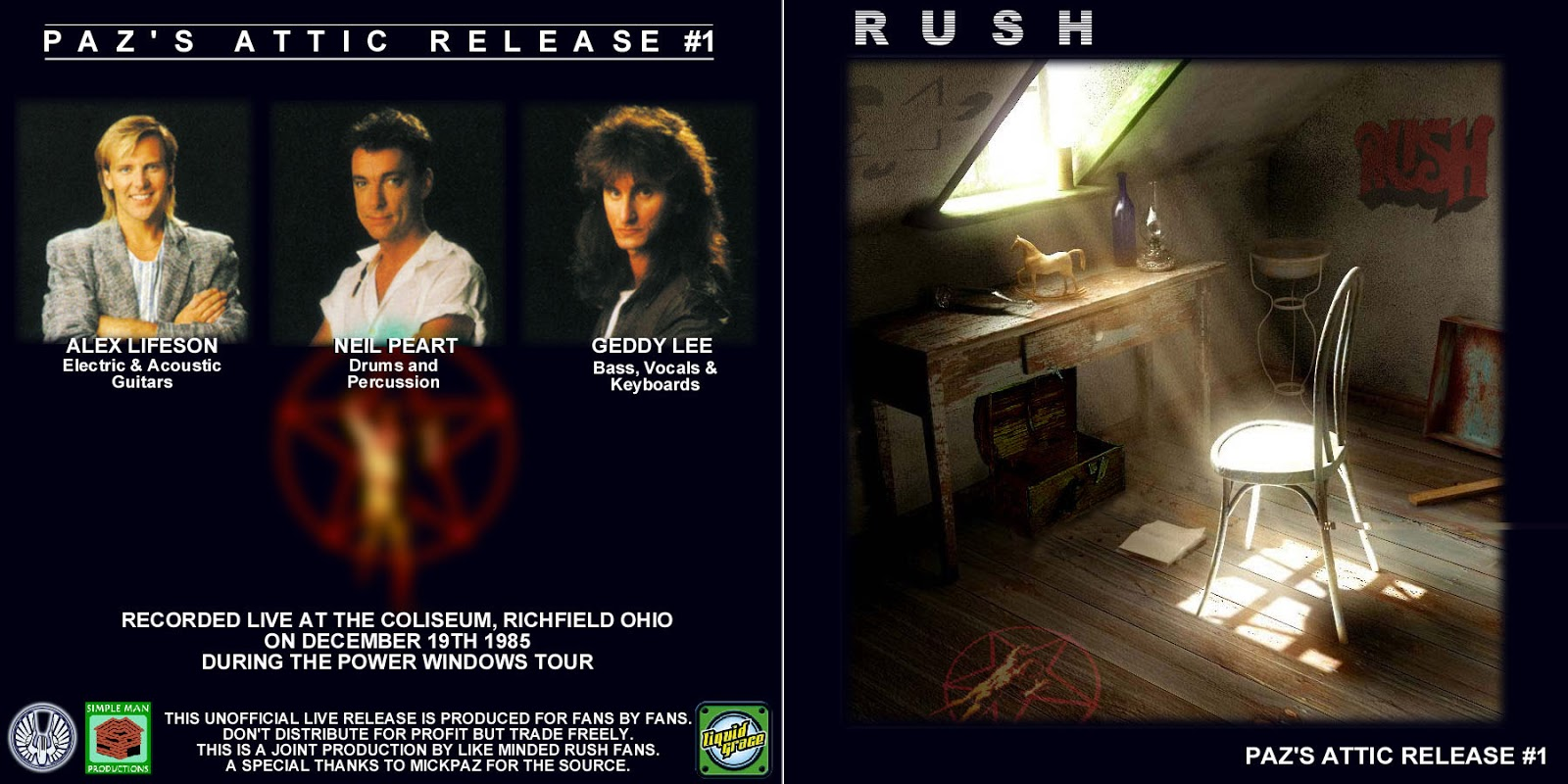 rush manhattan project Rush manhattan project from power windows album in (hq.