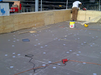 Commercial Roofing, EPDM, Roof Parapet Construction