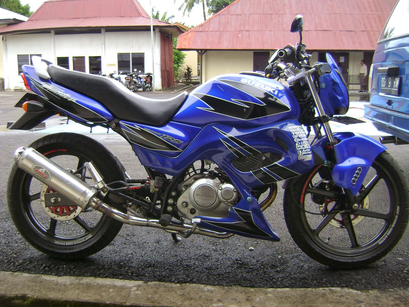 Gambar Modifikasi Suzuki Thunder