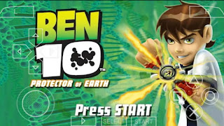 Ben 10 Protector Of Earth ISO PPSSPP