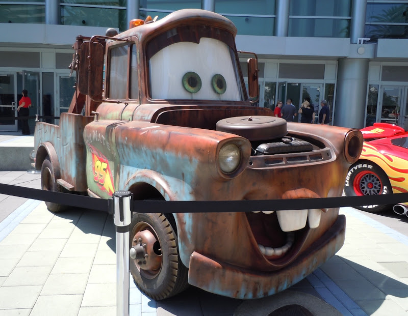 Mater life-size replica Cars 2