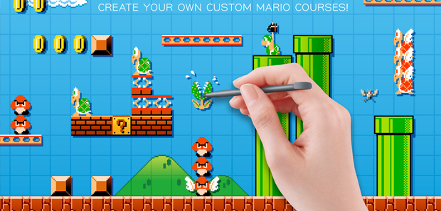 Mario Maker Allows You To Create Stages from Mario Games