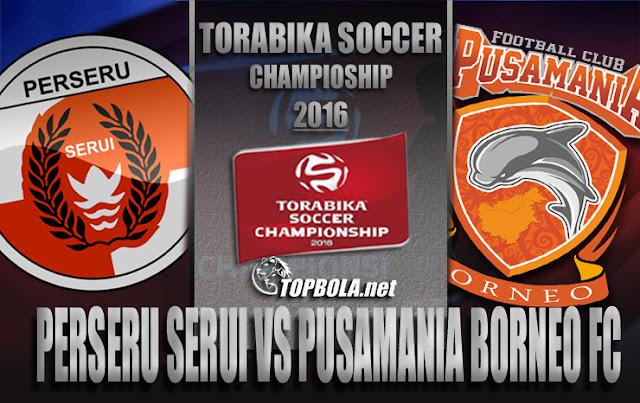 Perseru vs Borneo FC