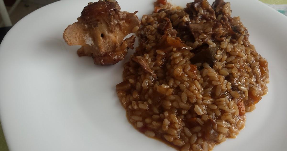 El chef coli arroz con cola o rabo de toro en olla express - Judias pintas con arroz olla express ...
