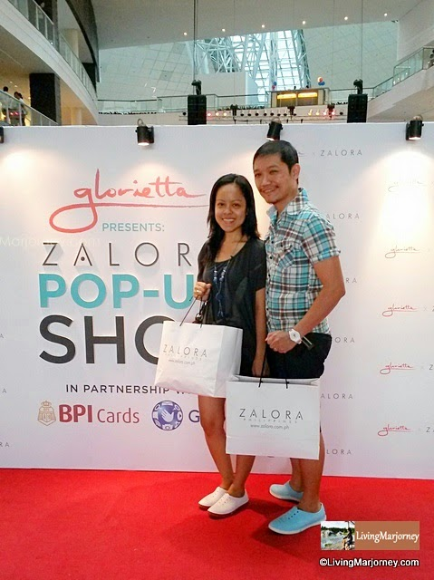 Shopping in Style: Husband and I at Zalora Pop-up Store
