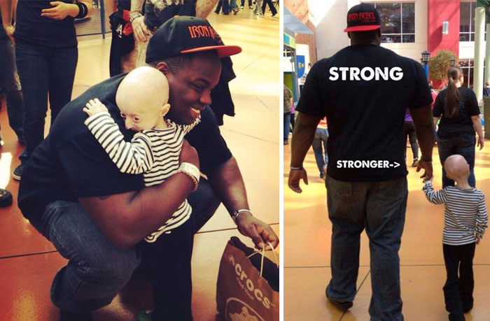 40 Times 2016 Restored Our Faith In Humanity - 12-Year-Old Girl Fighting Rare Aging Disease Becomes Best Friends With 330 Lbs Weightlifter A.K.A. 'The Beast'