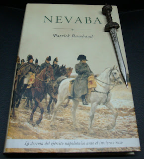 Portada del libro Nevaba, de Patrick Rimbaud