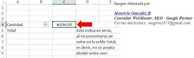 Como calcular porcentajes en Excel